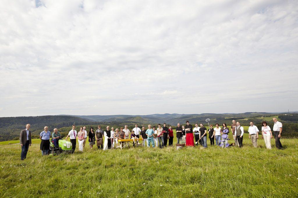 Gruppenfoto Genossenschaft