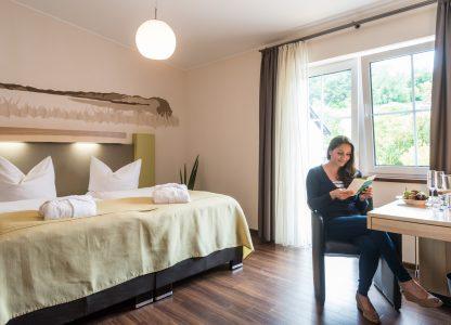 """Gast im Hotelzimmer """"Beim Brauer"""""""