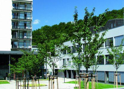 Eifelklinik Manderscheid Gebäude Außenansicht