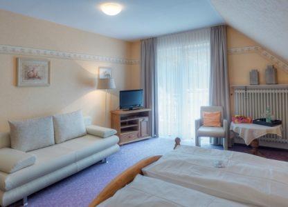 Zimmer im Hotel Schwanenweiher