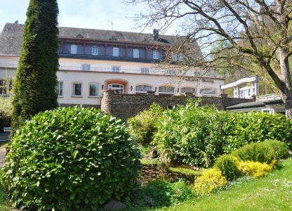 Hotel und Garten