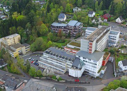 Luftbild Krankenhaus Maria Hilf Daun