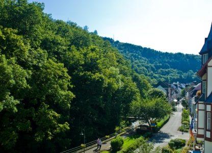 Haus Hohenzollern - Blick auf Bad Bertrich
