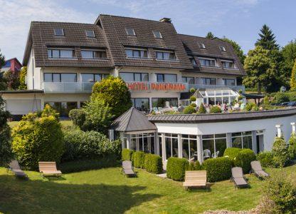 Panorama Hotel Daun Außenansicht
