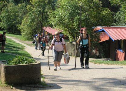 Jugend-Hüttendorf Vulkaneifel Wandern