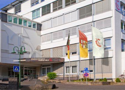 Haupteingang Krankenhaus