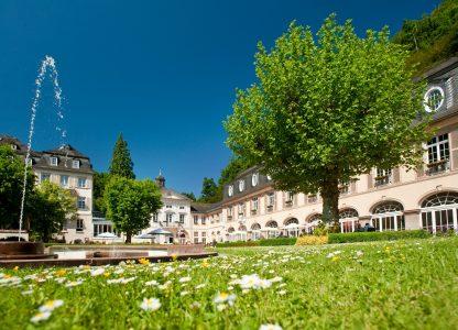 Kurgarten mit Springbrunnen