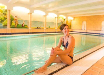 Panorama Hotel Daun Schwimmbad