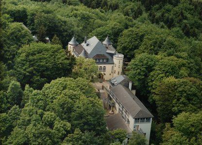 Luftaufnahme der Altburg