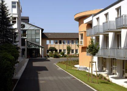 Gebäude der Klinken Daun