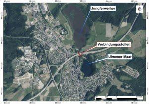 Luftbild von Ulmen